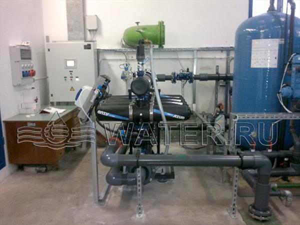 механические фильтры azud с автоматической промывкой